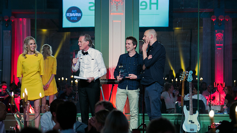 In 2014 wonnen we met Heijmans twee Duch Interactive Awards: beste corporate website en beste opdrachtgever.